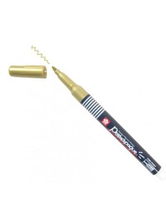 Sakura® popisovač Permapaque® 1 mm - metalická zlatá