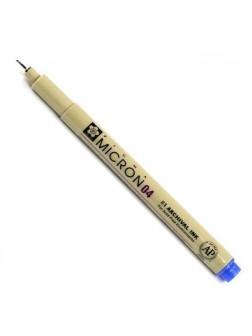 Pigma Micron® 04 - 0.4mm - modrá
