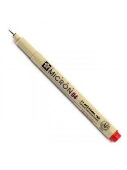 Pigma Micron® 04 - 0.4mm - červená