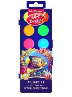 Neonové vodové barvy - různé sady