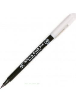Akvarelové štětcové pero Koi® - Světle Chladná Šedá