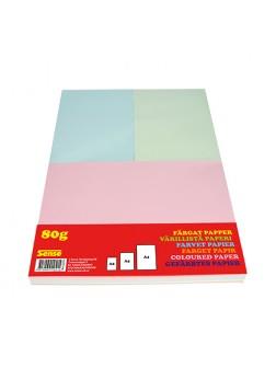 Barevný pastelový papír 80 gr, balení A4 1kg
