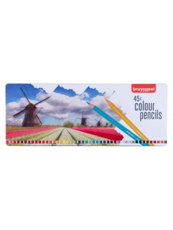 bruynzeel® Pastelky 45 ks - motiv Mlýn