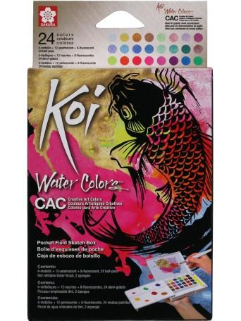 Sakura® Akvarel Koi Umělecká Kreativní sada 24 barev
