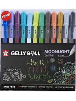 Gelly Roll® Moonlight 06™ Sada 12 ks. Kosmos
