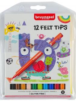 bruynzeel® Tenké fixy - sada 12 ks.
